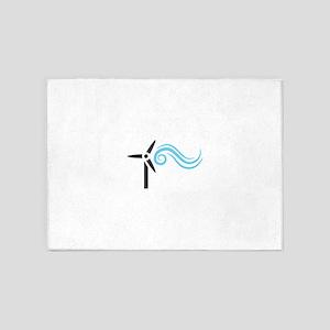 Wind Energy 5'x7'Area Rug
