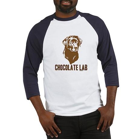 Chocolate Lab Baseball Jersey