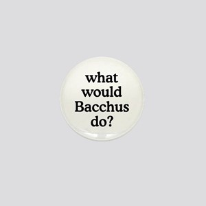 Bacchus Mini Button