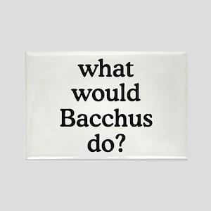 Bacchus Rectangle Magnet