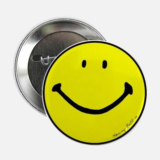 """Signature Smiley"" 2.25"" Button"