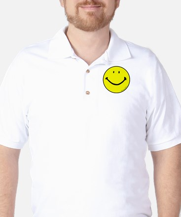 """Signature Smiley"" Golf Shirt"