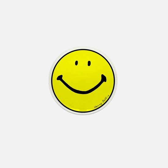 """Signature Smiley"" Mini Button"