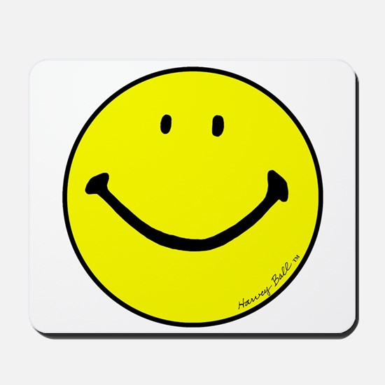 """Signature Smiley"" Mousepad"