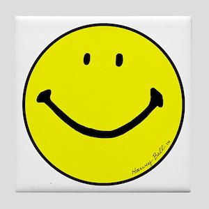 """Signature Smiley"" Tile Coaster"