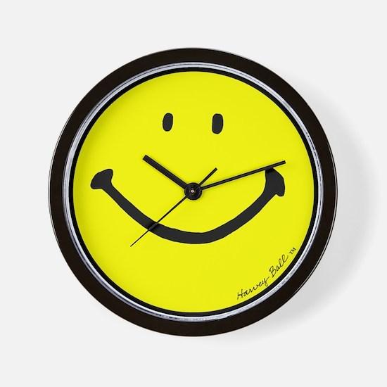 """Signature Smiley"" Wall Clock"