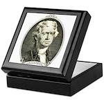 President Jefferson Keepsake Box