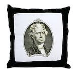 President Jefferson Throw Pillow