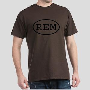 REM Oval Dark T-Shirt