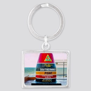 Southernmost Point Key West Florida Keychains