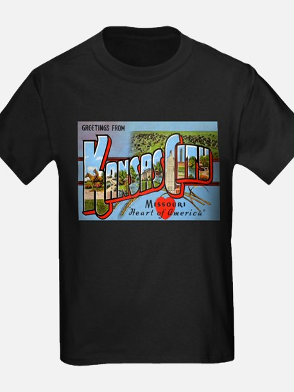 Kansas City Missouri Greetings T-Shirt