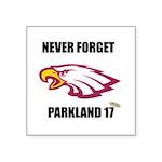 Never Forget Parkland 17 Sticker