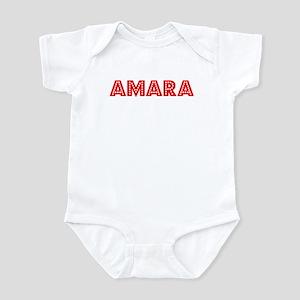 Retro Amara (Red) Infant Bodysuit