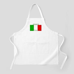 Italy Italian Flag BBQ Apron