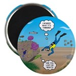 SCUBA Diver and Moray Eel 2.25