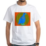 Grouse White T-Shirt