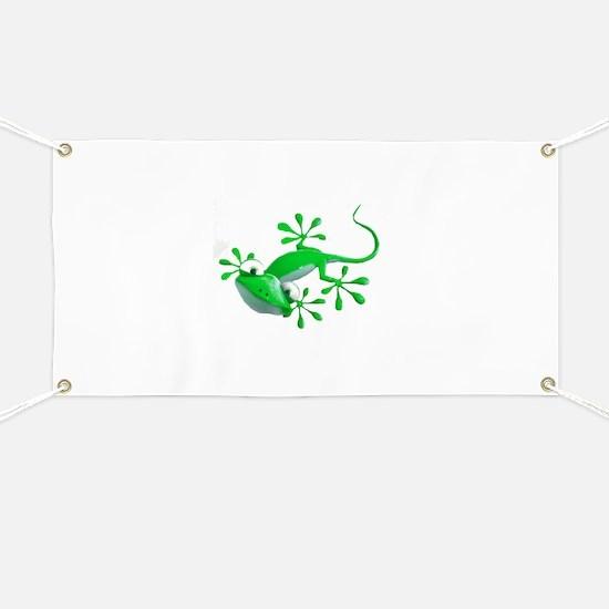 Gecko Banner