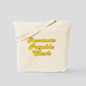 Retro Accounts Pa.. (Gold) Tote Bag
