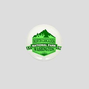 North Cascades - Washington Mini Button