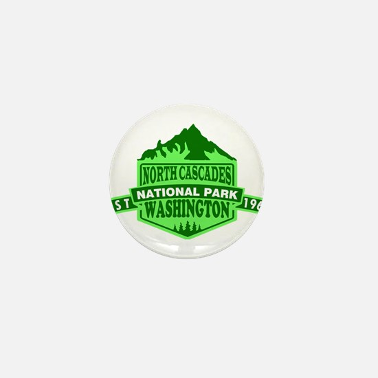 North Cascades - Washington Mini Button