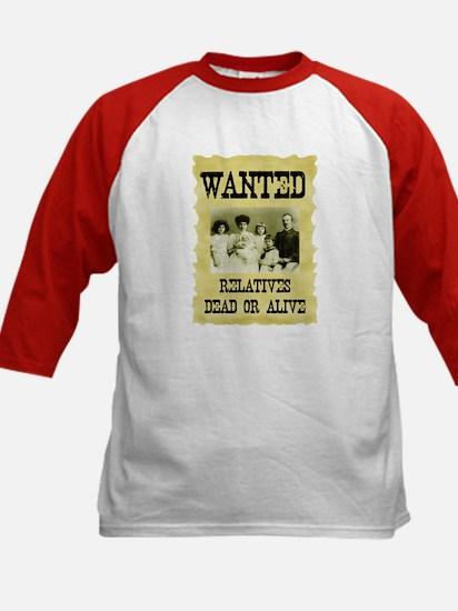 Wanted Poster Kids Baseball Jersey