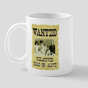 Wanted Poster Mug