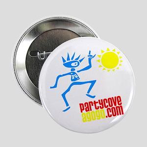 """Party Cove AGoGo Logo1 2.25"""" Button"""