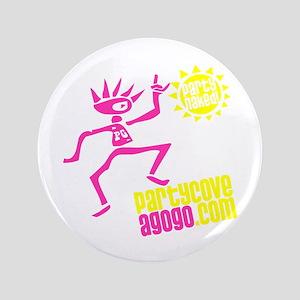 """Party Cove AGoGo -Get Naked Sun 3.5"""" Button"""