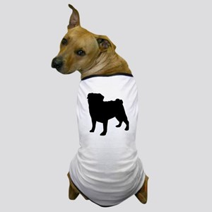 Pug Silhouette Dog T-Shirt