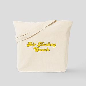 Retro Air Hockey .. (Gold) Tote Bag