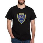 Rialto Police Dark T-Shirt