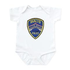 Rialto Police Infant Bodysuit