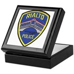 Rialto Police Keepsake Box