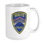 Rialto Police Large Mug
