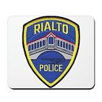 Rialto Police Mousepad