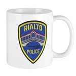 Rialto Police Mug