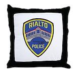 Rialto Police Throw Pillow