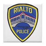 Rialto Police Tile Coaster