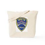 Rialto Police Tote Bag