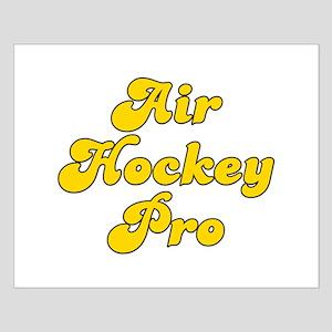 Retro Air Hockey .. (Gold) Small Poster