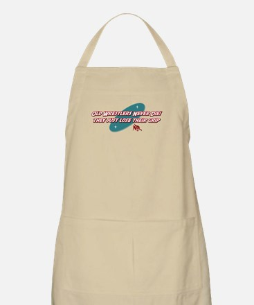 Old Wrestlers Never Die BBQ Apron