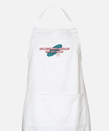 Old Watchmakers Never Die BBQ Apron