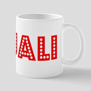 Retro Anjali (Red) Mug