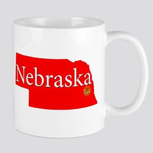 Nebraska Red Mugs