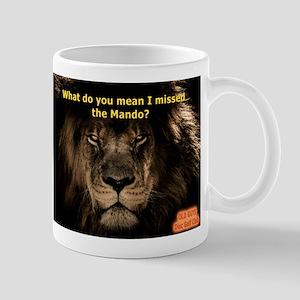 African Lion Mando Mugs
