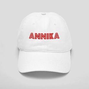 Retro Annika (Red) Cap