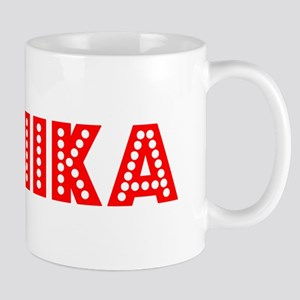 Retro Annika (Red) Mug