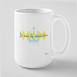 Je Suis La Revolution Large Mug