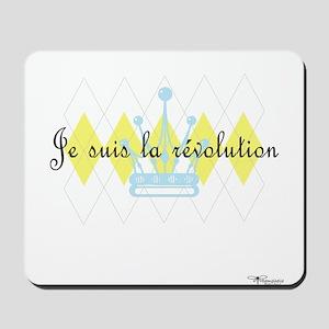 Je Suis La Revolution Mousepad