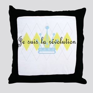 Je Suis La Revolution Throw Pillow